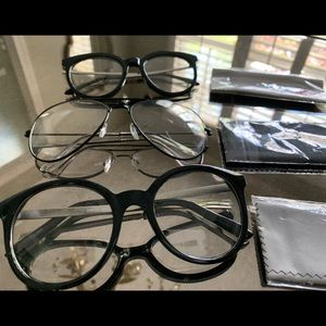 Accessories - Clear lenses glasses